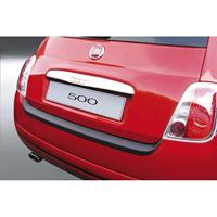 ABS Achterbumper beschermlijst Fiat 500 2007- Zwart