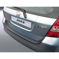 ABS Achterbumper beschermlijst Honda Jazz 2004-2008 Zwart