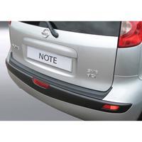 ABS Achterbumper beschermlijst Nissan Note Zwart