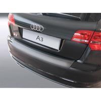 ABS Achterbumper beschermlijst Audi A3 8P Sportback 2008-2012 Zwart