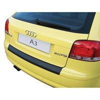 ABS Achterbumper beschermlijst Audi A3 8P 3 deurs 2003-2008 Zwart