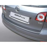 ABS Achterbumper beschermlijst Volkswagen Golf V Plus Zwart