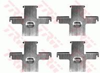 TRW Zubehörsatz, Scheibenbremsbelag PFK307  NISSAN,PATROL Hardtop K160,PATROL Station Wagon W260,PATROL Hardtop K260,PATROL Station Wagon W160