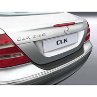 ABS Achterbumper beschermlijst Mercedes-Benz CLK 2005- Zwart