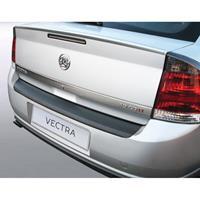 ABS Achterbumper beschermlijst Opel Vectra C 4/5 deurs 2005-2008 excl. Wagon Zwart