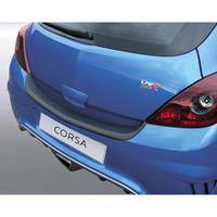 ABS Achterbumper beschermlijst Opel Corsa D 3 deurs GSi/VXR/OPC Zwart