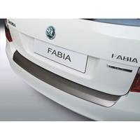 ABS Achterbumper beschermlijst Skoda Fabia combi 2010- 2014 Zwart