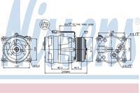 citroen Compressor, airconditioning