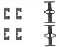 A.B.S. Zubehörsatz, Scheibenbremsbelag 1092Q  HONDA,ROVER,MG,JAZZ III GE,CIVIC VI Hatchback EJ, EK,CIVIC VI Fastback MA, MB,CIVIC VI Aerodeck MB, MC