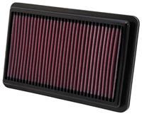 K&N vervangingsfilter Honda Civic Si 2.4L-L4 2012 (33-2473)