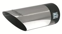 Simoni Racing Uitlaatsierstuk Rond/Schuin RVS - Diameter 60mm- Lengte 175mm - Montage 35-60 mm