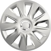 4-Delige Wieldoppenset Stratos RC Silver 16 inch