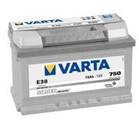 bmw Varta Silver Dynamic E38 74 Ah