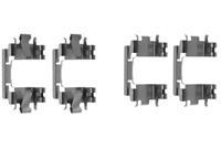 A.B.S. Zubehörsatz, Scheibenbremsbelag 1257Q  HONDA,JAZZ II GD,CIVIC VI Hatchback EJ, EK,CIVIC VI Fastback MA, MB,CRX III EH, EG,LOGO GA3