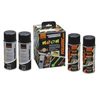 Foliatec Spray Film (Spuitfolie) NEON 4-delige Set - groen 2x400ml + basislaag 2x400ml