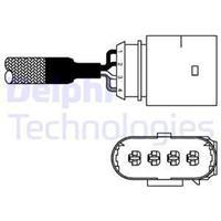 DELPHI Lambdasonde ES10981-12B1 Lambda Sensor,Regelsonde VW,AUDI,SKODA,GOLF IV 1J1,GOLF V 1K1,TOURAN 1T1, 1T2,GOLF VI 5K1,PASSAT Variant 3C5