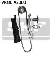 SKF Steuerkettensatz VKML 95000  MITSUBISHI,PAJERO II V3_W, V2_W, V4_W