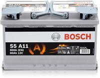 bmw Bosch S5 A11 Silver Accu 80 Ah