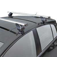 Dakdragerset Twinny Aluminium A50 Volvo S60/V60/V40 2010- (voor auto's zonder dakreling)