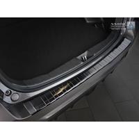 Zwart RVS Achterbumperprotector Mitsubishi ASX 2017-Ribs'