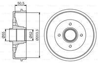 Bremstrommel | BOSCH (0 986 477 172)