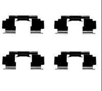 A.B.S. Zubehörsatz, Scheibenbremsbelag 1276Q  HONDA,ROVER,MG,CIVIC VII Hatchback EU, EP, EV,CIVIC VI Hatchback EJ, EK,CIVIC VI Fastback MA, MB
