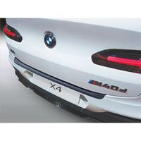 ABS Achterbumper beschermlijst BMW X4 (G02)M' Sport 2018- Zwart