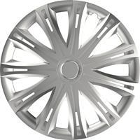 4-Delige Wieldoppenset Spark Silver 15 Inch