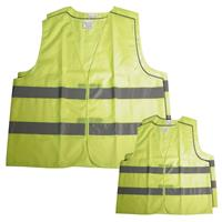 Carpoint veiligheidshesjes familypack fluorgeel 4 stuks