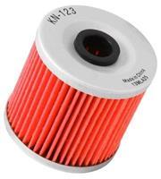K&N Oliefilter Motorfiets Cartridge (KN-123)