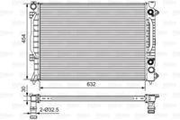 RIDEX Wasserkühler 470R0470 Kühler,Motorkühler AUDI,A6 Avant 4B5, C5,A6 4B2, C5,ALLROAD 4BH, C5