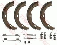 TRW Handbremsbeläge GS8745 Handbremsbacken,Bremsbackensatz, Feststellbremse MERCEDES-BENZ,C-CLASS W204,C-CLASS T-Model S204,E-CLASS T-Model S212