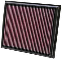 K&N vervangingsfilter Lexus IS F 5.0L 2008-2011 (33-2453)