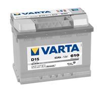 renault Varta Accu Silver Dynamic D15 63 Ah