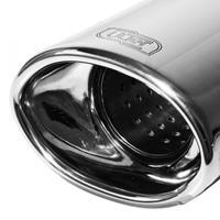 Sportuitlaat Ford KA II 1.2i 51kW/1.3 TDCi 55kW 2008-2012 120x80mm
