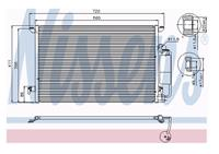NISSENS Klimakondensator 94675 Kondensator,Klimakühler SAAB,CADILLAC,9-3 YS3F,9-3 Kombi YS3F,9-3 Cabriolet YS3F,9-3X,BLS,BLS Wagon