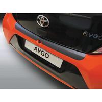 ABS Achterbumper beschermlijst Toyota Aygo 3/5 deurs 7/2014- Zwart