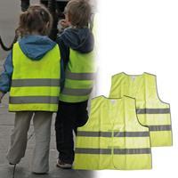 Carpoint veiligheidsvest junior geel one size