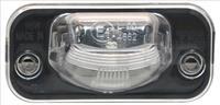 Volkswagen Kentekenlamp