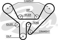 Zahnriemen 'PowerGrip' | GATES (5518XS)