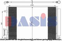 Condensor, airconditioning AKS Dasis