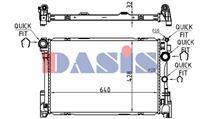Kühler, Motorkühlung   AKS Dasis (120104N)
