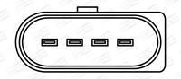 Bobine CHAMPION, 4-polig, 12 V