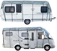 ProPlus caravan en camperdakhoes 500 x 300 cm grijs