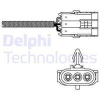 DELPHI Lambdasonde ES10992-12B1 Lambda Sensor,Regelsonde RENAULT,CLIO II BB0/1/2_, CB0/1/2_,KANGOO KC0/1_,KANGOO Express FC0/1_