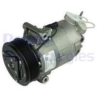 DELPHI Kompressor TSP0155928 Klimakompressor,Klimaanlage Kompressor NISSAN,QASHQAI / QASHQAI +2 J10, JJ10