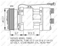 fiat Compressor, airconditioning