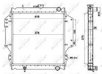 NRF Wasserkühler 513161 Kühler,Motorkühler SUZUKI,SAMURAI SJ,SJ 413,SJ 410 Cabrio,SJ 410