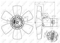 Audi Koelventilatorwiel