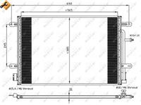 NRF Klimakondensator 35560 Kondensator,Klimakühler AUDI,SEAT,A4 Avant 8ED, B7,A4 Avant 8E5, B6,A4 8E2, B6,A4 Cabriolet 8H7, B6, 8HE, B7,A4 8EC, B7